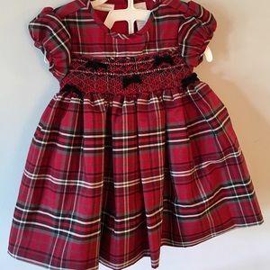 🎉HOST PICK!🎉Christmas Dress Velvet Bows BabyGirl